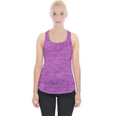Purple Denim Piece Up Tank Top by snowwhitegirl