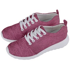 Pink  Denim Men s Lightweight Sports Shoes by snowwhitegirl