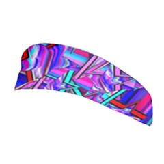 Stars Beveled 3d Abstract Stripes Stretchable Headband