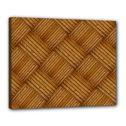 Wood Texture Background Oak Canvas 20  X 16