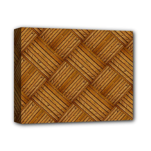 Wood Texture Background Oak Deluxe Canvas 14  X 11