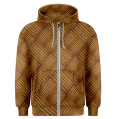 Wood Texture Background Oak Men s Zipper Hoodie
