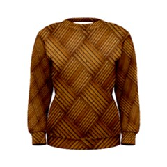 Wood Texture Background Oak Women s Sweatshirt