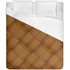 Wood Texture Background Oak Duvet Cover (california King Size)