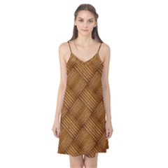 Wood Texture Background Oak Camis Nightgown