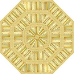 Wood Texture Grain Light Oak Hook Handle Umbrellas (medium)