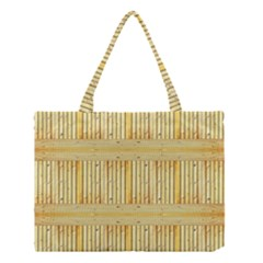 Wood Texture Grain Light Oak Medium Tote Bag
