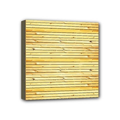 Wood Texture Background Light Mini Canvas 4  X 4