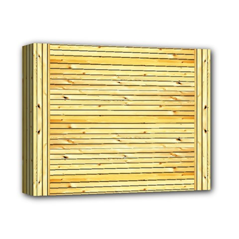 Wood Texture Background Light Deluxe Canvas 14  X 11