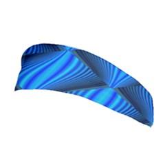Abstract Waves Motion Psychedelic Stretchable Headband