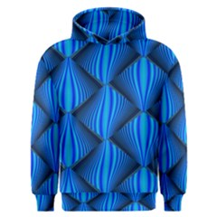 Abstract Waves Motion Psychedelic Men s Overhead Hoodie