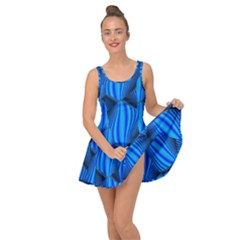 Abstract Waves Motion Psychedelic Inside Out Dress