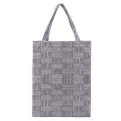 Texture Wood Grain Grey Gray Classic Tote Bag