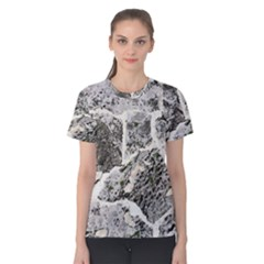 Coquina Shell Limestone Rocks Women s Cotton Tee