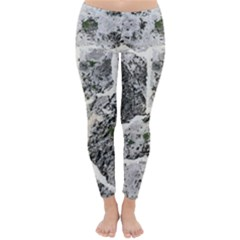 Coquina Shell Limestone Rocks Classic Winter Leggings