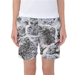 Coquina Shell Limestone Rocks Women s Basketball Shorts