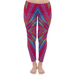 Burst Radiate Glow Vivid Colorful Classic Winter Leggings