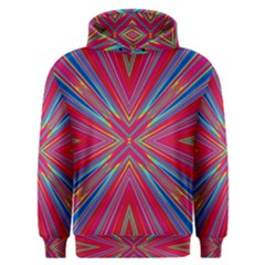Burst Radiate Glow Vivid Colorful Men s Overhead Hoodie by Nexatart