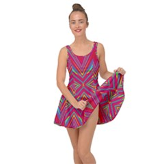 Burst Radiate Glow Vivid Colorful Inside Out Dress