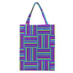 Geometric Textile Texture Surface Classic Tote Bag