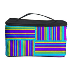 Geometric Textile Texture Surface Cosmetic Storage Case