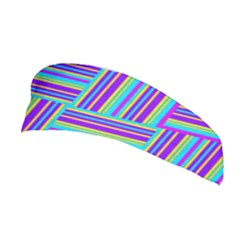 Geometric Textile Texture Surface Stretchable Headband