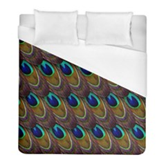 Peacock Feathers Bird Plumage Duvet Cover (full/ Double Size)