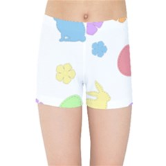Easter Patches  Kids Sports Shorts