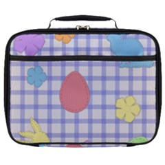 Easter Patches  Full Print Lunch Bag by Valentinaart