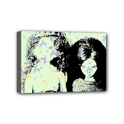 Mint Wall Mini Canvas 6  x 4