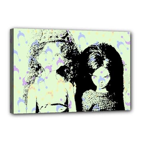 Mint Wall Canvas 18  x 12