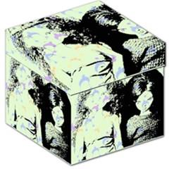 Mint Wall Storage Stool 12