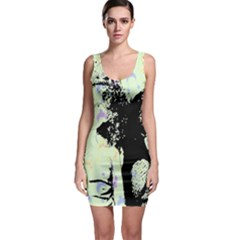 Mint Wall Bodycon Dress