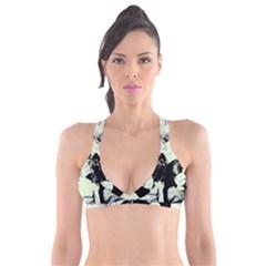 Mint Wall Plunge Bikini Top