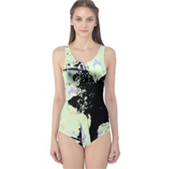 Mint Wall One Piece Swimsuit