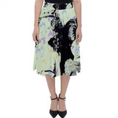 Mint Wall Folding Skater Skirt