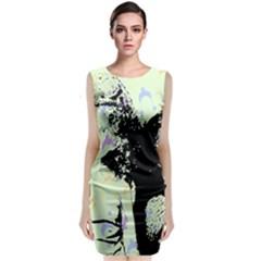 Mint Wall Classic Sleeveless Midi Dress