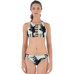 Mint Wall Perfectly Cut Out Bikini Set