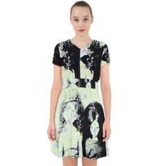 Mint Wall Adorable in Chiffon Dress