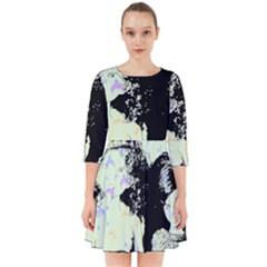 Mint Wall Smock Dress