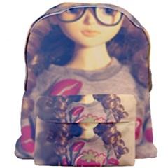 Eating Sushi Giant Full Print Backpack by snowwhitegirl