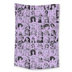Lilac Yearbok Large Tapestry by snowwhitegirl