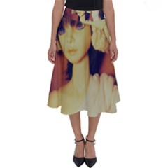 Captain Perfect Length Midi Skirt by snowwhitegirl