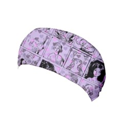 Lilac Yearbook 1 Yoga Headband by snowwhitegirl