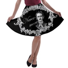 Edgar Allan Poe    Never More A Line Skater Skirt