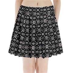 Dark Luxury Baroque Pattern Pleated Mini Skirt by dflcprints
