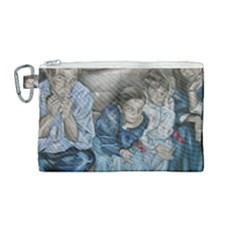 The Nobodies Canvas Cosmetic Bag (medium) by redmaidenart