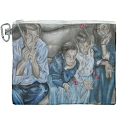 The Nobodies Canvas Cosmetic Bag (xxxl) by redmaidenart
