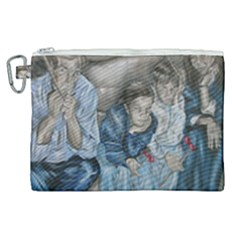 The Nobodies Canvas Cosmetic Bag (xl) by redmaidenart