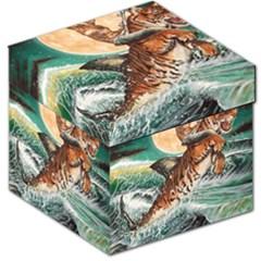 Tiger Shark Storage Stool 12   by redmaidenart
